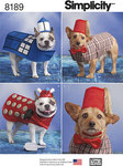 Dog Costumes in Three Sizes