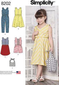 Childrens Jumpsuits, Dresses and Bag