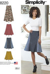 0 Misses´ Easy-to-Sew Skirt in Three Lengths
