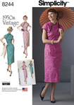 4 Misses 1950s Dress