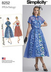 2 Misses 1950s Dress and Redingote