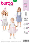 Burda 9319. Child´s pinafore skirt.