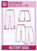 Multisnit B3. Strech pants.