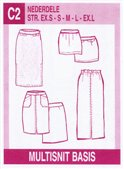 Multisnit C2. Skirts.