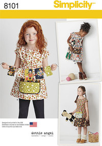 Child´s Dress and Tunic from Dottie Angel. Simplicity 8101.