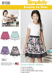 Learn To Sew Skirts for Girls and Girls Plus