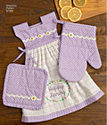 Towel Dresses, Pot Holders and Oven Mitts