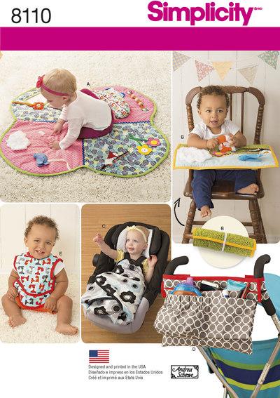 Babies Play Mats, Stroller Accessories, and Bibs