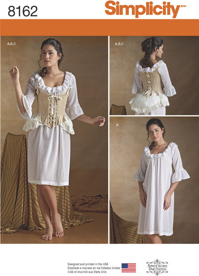 2 Misses´ 18th Century Undergarments