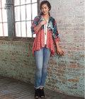 Kimonos fabric and trim variations
