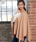 Misses´ Fleece Poncho Wraps