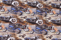 Cotton-jersey with cool motor cycles
