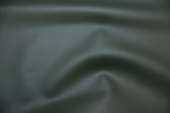 Dark green faux leather