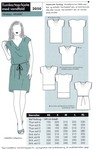 Onion 2050. Tunic, top or dress with waterfall.