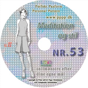 CD-rom no. 53 - Meditation and Style