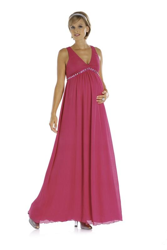 Вечернее платье для беременной своими руками