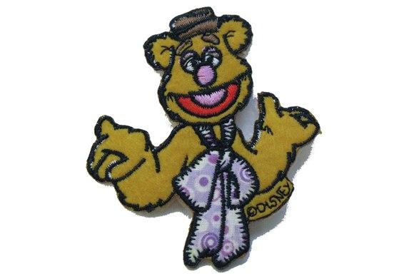 Fozzie bear patch 7x7cm.