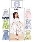 Butterick 3762. Dress for girls.