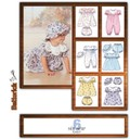 Butterick 4110. Dress, Panties, Jumpsuit And Hat.