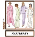 Butterick 4406. Petite Jacket, Robe, Top, Tunic And Pants.