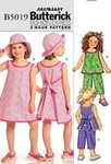 Butterick 5019. Top, Dress, Pants And Hat.