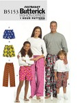 Butterick 5153. Shorts And Pants.