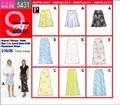 Butterick 5431. Petite Lined Skirt W/elasticized Waist.