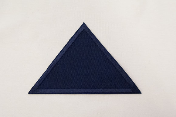 Triangle navy 8x11cm