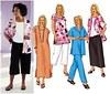 Butterick 3039. Petite Shirt, Top, Tunic, Dress, Skirt And Pants.