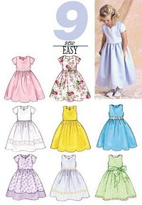 Dress. Butterick 3350.