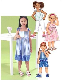 Dress, Top, Short and Pants. Butterick 3477.