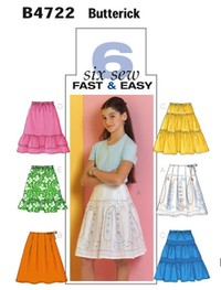 Skirt. Butterick 4722.