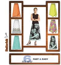 Petite Skirt. Butterick 4803.