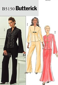 Jacket, Skirt And Pants. Butterick 5150.