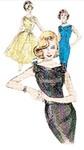 Butterick 6582. Dress and Belt.