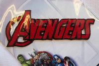 Avengers patch, 9 x 2 cm