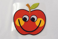 Big apple patch 9 x 9 cm