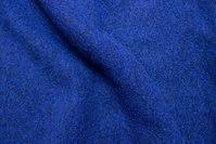 Felt wool in strong blue