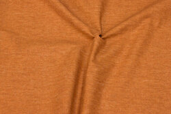 Flamed, firm cotton in cinnamon-colored