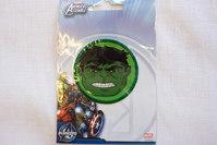 Hulk face patch, diameter 5.5 cm