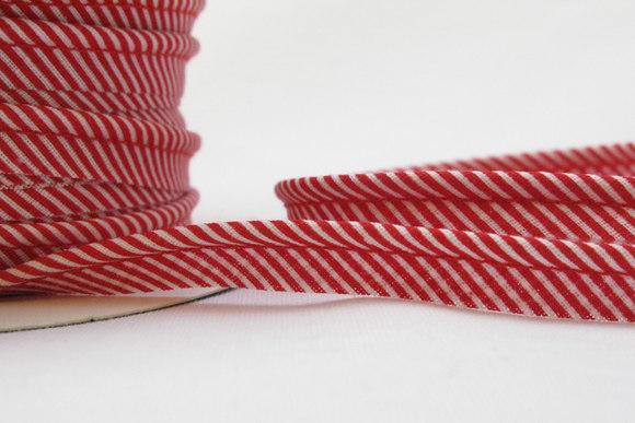 Pipping ribbon, stripes 1 cm
