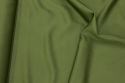 Royal micro-satin in olive-green