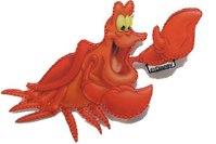 Sebastian crab patch 6 x 7 cm