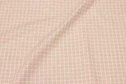 Soft cotton in ca. 12 mm soft red checks