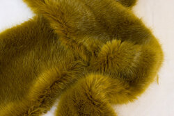 Supersoft, faux fake fur piece ca. 20 x 180 cm