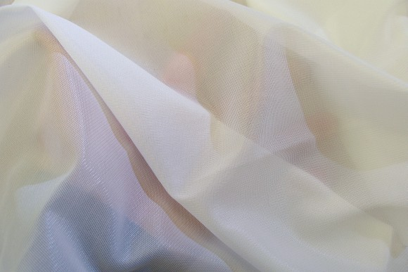 White charmeuse lining